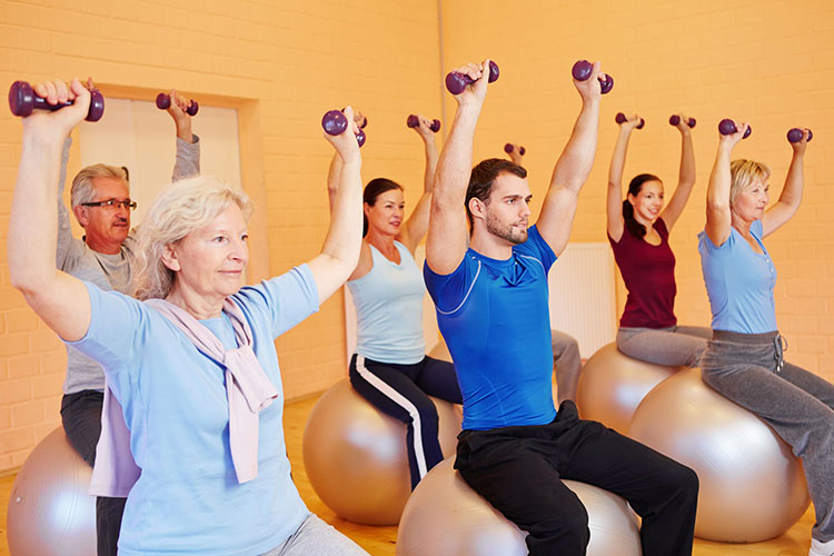 dementia activity physical exercise