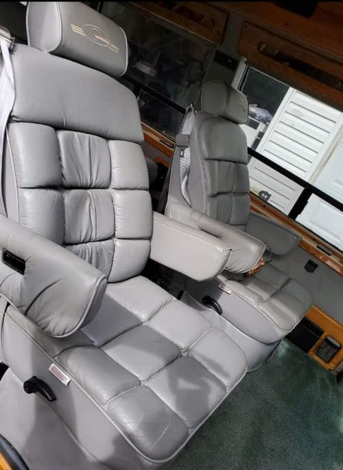 van seats to be removed for van life