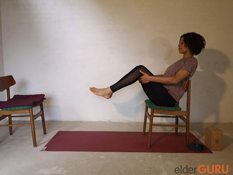 Seated Boat Pose-Both Legs
