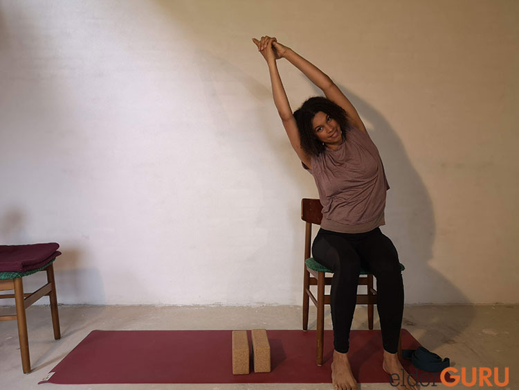 Seated Side Stretch Right