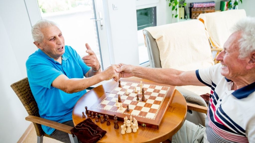 chess one of the activities for seniors